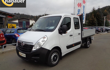 Opel Movano Doppelkabine mit Pritsche bei Autohaus Radauer in